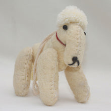 Load image into Gallery viewer, Bedlington Terrier Dog Ornament - Hand-Felted