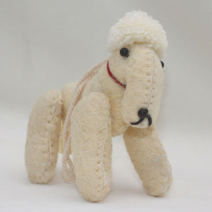Bedlington Terrier Dog Ornament - Hand-Felted