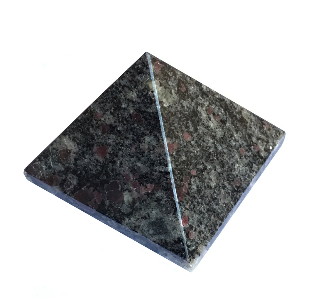 Spinel Matrix Stone Pyramid 2 inch base