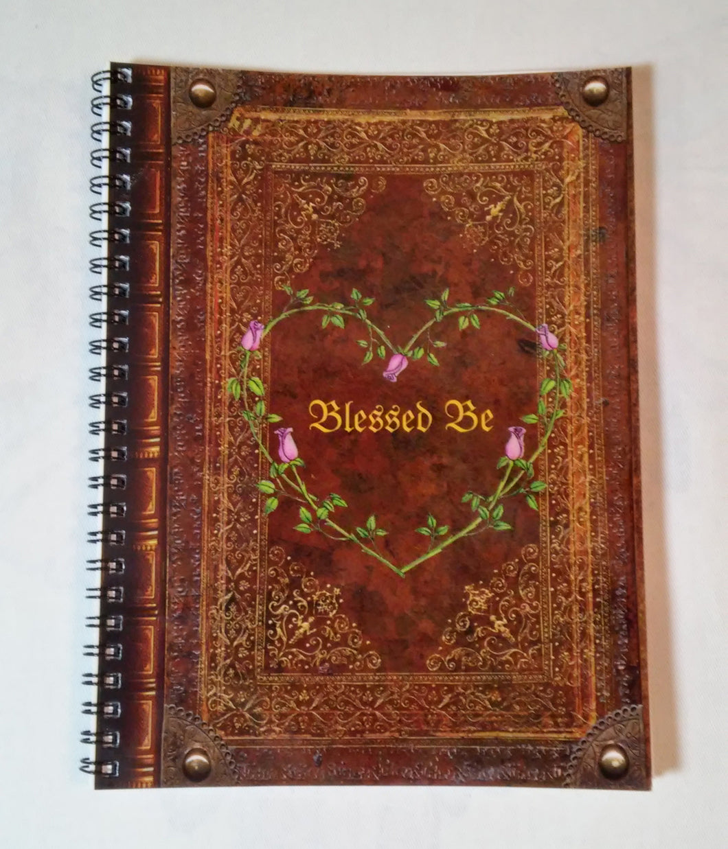 Blessed Be Wicca Notebook