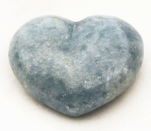Load image into Gallery viewer, Blue Calcite Puffy Heart for easier detox