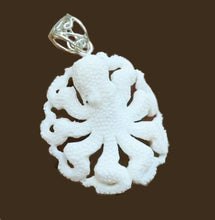 Load image into Gallery viewer, Octopus Buffalo Bone Necklace