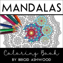 Load image into Gallery viewer, Mandalas Coloring Book and Tin of Stabilo Set of 12 Chalk-Pastel Pencils