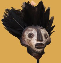 Load image into Gallery viewer, Tribal Head on Stand
