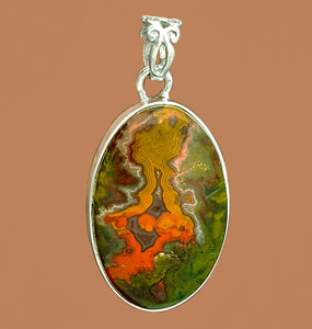 Cady Mountain Agate Pendant - for work that pays off big.