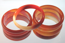 Load image into Gallery viewer, Carnelian Bangle Bracelet to Boost your Confidence