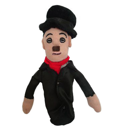 Charlie Chaplin Finger Puppet and Fridge Magnet