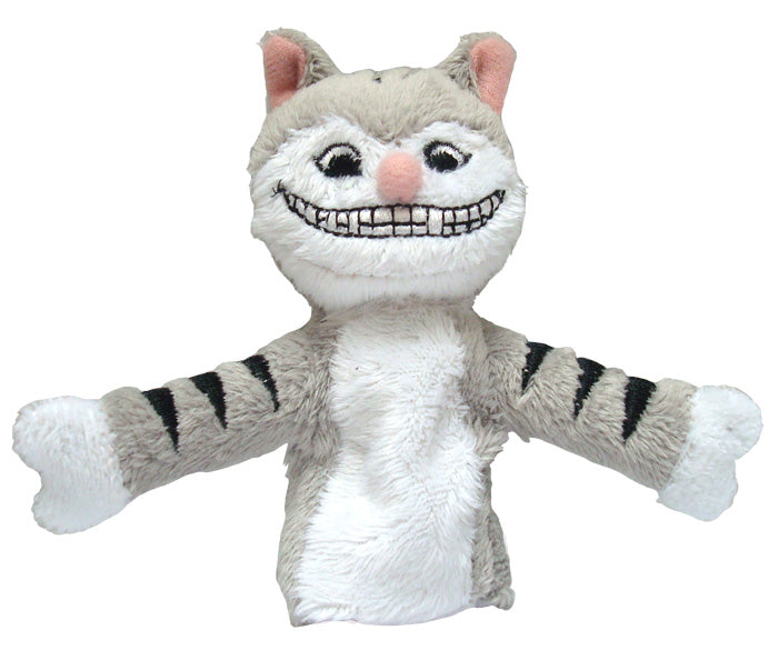Cheshire Cat from Alice in Wonderland Finger Puppet and Fridge Magnet