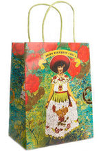 Load image into Gallery viewer, Papaya Art Gift Bag with Foil Embellishments