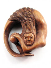 Load image into Gallery viewer, Circling Mermaid Netsuke Bead