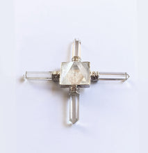 Load image into Gallery viewer, Four Direction Quartz Crystal Pyramid Activator - Power Piece!