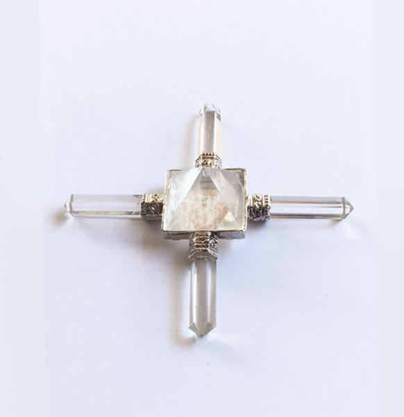 Four Direction Quartz Crystal Pyramid Activator - Power Piece!