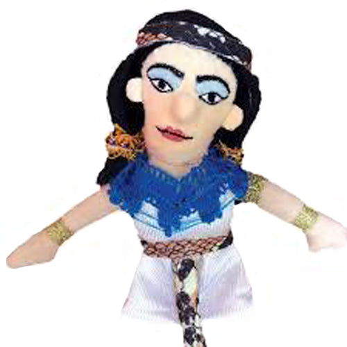 Cleopatra Finger Puppet and Fridge Magnet