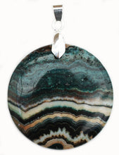 Load image into Gallery viewer, Crazy Lace Agate Pendant