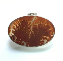 Load image into Gallery viewer, Dendrite Agate Pendant in Sepia