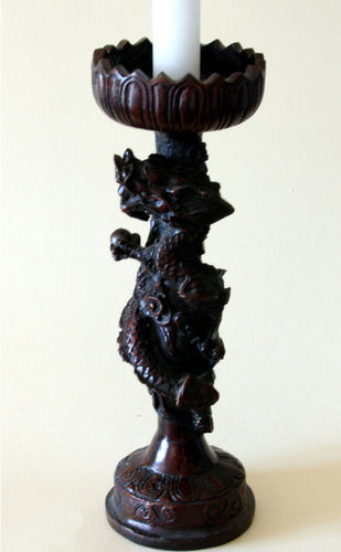 Dragon Candlestick - Caduceus-like