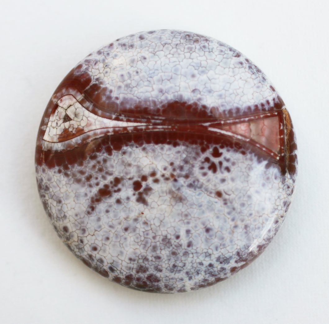 Dragon Veins Agate Bead