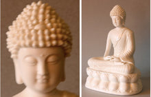 Load image into Gallery viewer, Meditating Buddha Blanc de Chine Figurine