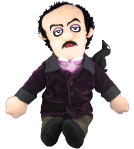 Edgar Allan Poe Stuffed Cloth Doll