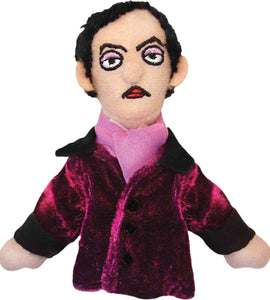 Edgar Allen Poe Finger Puppet and Refrigerator Magnet from Unemployed Philosophers Guild