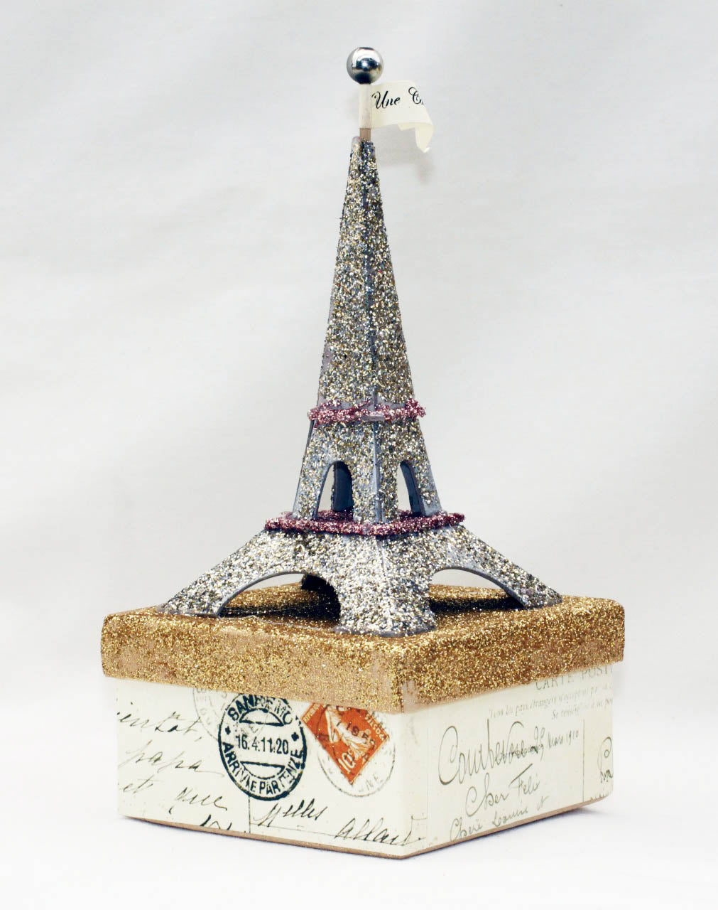 Eiffel Tower Candy Box - handmade work of art