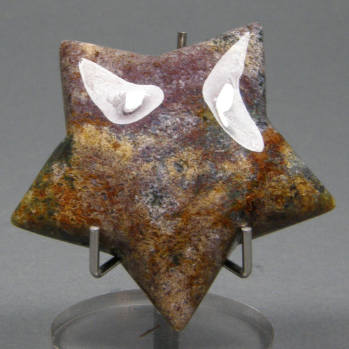 Fancy Jasper Puffy Star for High IQ, Wit and Social Ease