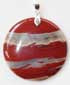 Flame Agate Pendant for Good Judgment During Times of Risk and Adventure, Grace, and Kundalini Yoga
