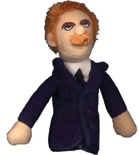 Friedrich Nietzsche Finger Puppet and Fridge Magnet