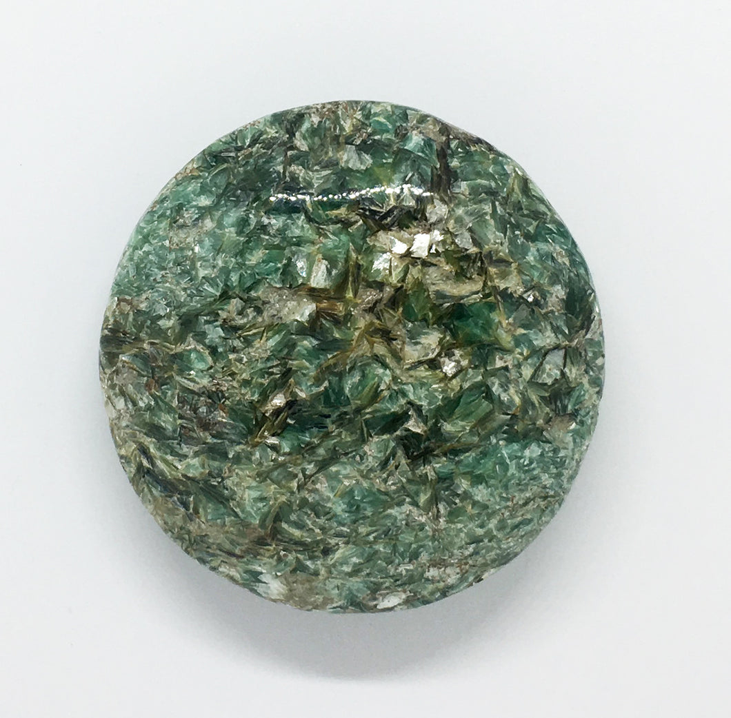 Fuchsite Kyanite Palm Stone