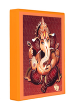 Load image into Gallery viewer, Ganesh Mini Binder 1.5 Inch Avery Binder