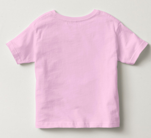 Unicorn Tee Rabbit Skins Pink Cotton Jersey Toddler Tee Size 3