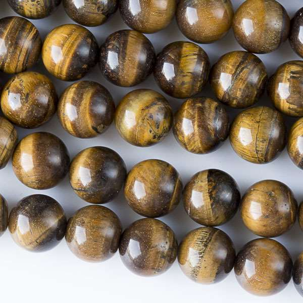 Golden Tiger's Eye Beads Round 11.5mm Beads