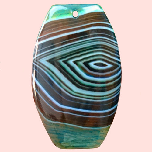 Banded Agate Bead