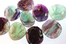 Fluorite Palm Stone does a lot more than strengthen your bones and teeth