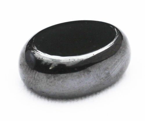 Magnetic Hematite polished pad for your pocket.