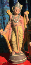 Load image into Gallery viewer, Hindu Temple Musician - Hand-Painted 18' Plaster Statue