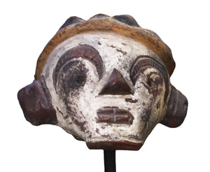 Tribal Head on Stand