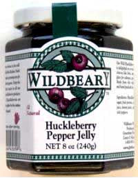 Huckleberry Pepper Jelly - Pilot's Favorite - Good for Your Eyes