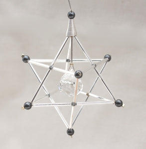Merkaba Mobile for Greater Brain Accessibility: Sacred Geometry Star of David