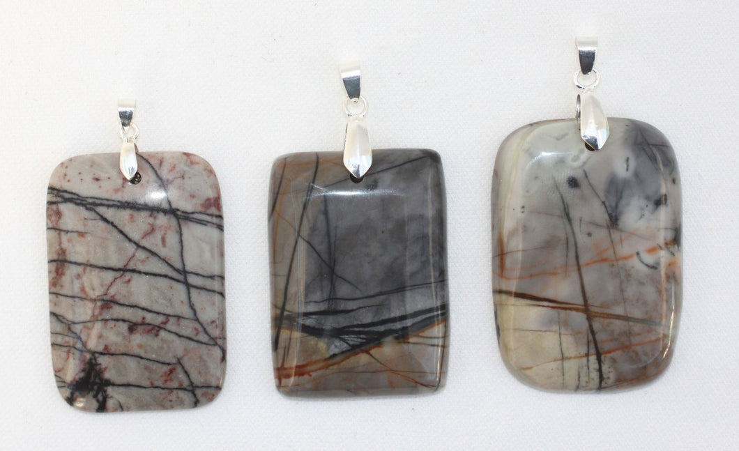 Picasso Jasper Pendant transforms your worry