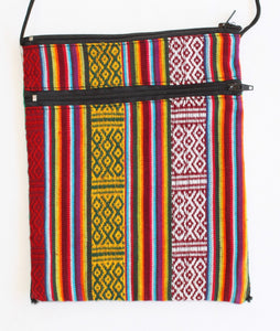 Green Tara Tarot Bag - Rayon and Cotton Bhutan Tapestry