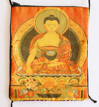 Load image into Gallery viewer, Tarot Bag with Golden Buddha Passport Bag
