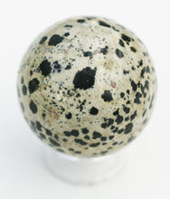 Load image into Gallery viewer, Dalmatian Jasper Sphere - Dispels Worry, Negativity and Nightmares