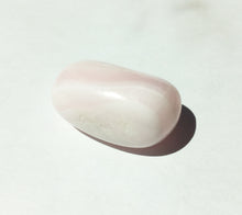 Load image into Gallery viewer, Mangano Pink Calcite Tumbled Stone