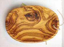 Load image into Gallery viewer, Small Italian Olive Wood Bowl - great Tapas Bowl