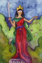 Load image into Gallery viewer, Tarot Art Spiritual Greeting Card
