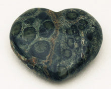 Load image into Gallery viewer, Kambaba Jasper 40mm Heart - aka Crocodile Jasper