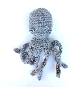 Octopus Gift -  Limited Edition Hand-Knitted Octopus Ornament