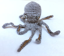 Load image into Gallery viewer, Octopus Gift -  Limited Edition Hand-Knitted Octopus Ornament