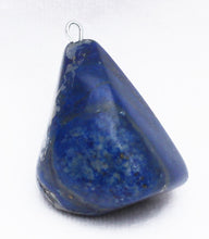 Load image into Gallery viewer, Lapis Lazuli Pendant tumbled free-form Lapis Stone